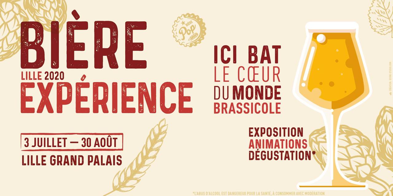 Cet été on va à Lille et on vit la Bière Expérience !