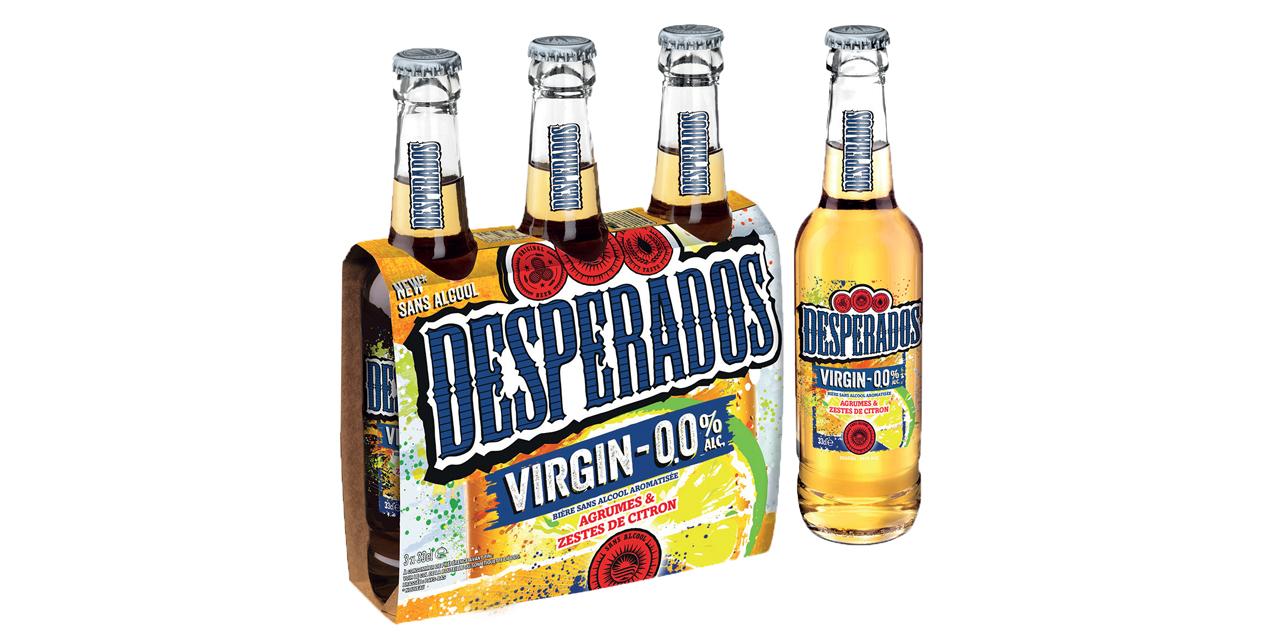 Heineken lance la Desperados Virgin 0,0%