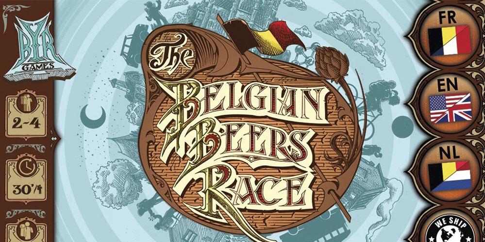 Belgian Beers Race, jeu de plateau en financement participatif