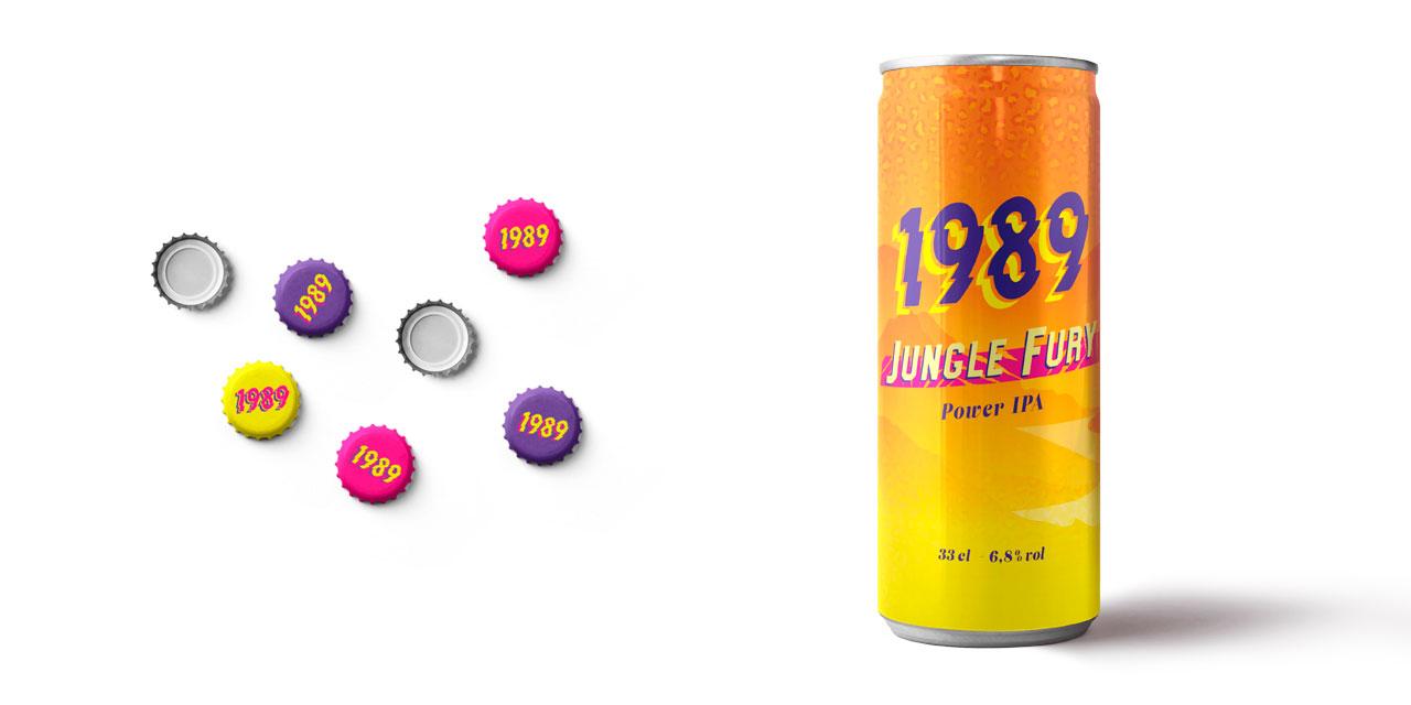 La brasserie 1989 lance sa Power IPA-Jungle Fury