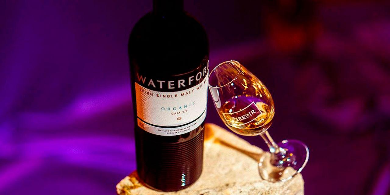 Waterford Organic Gaia 1.1, premier irish whiskey Bio