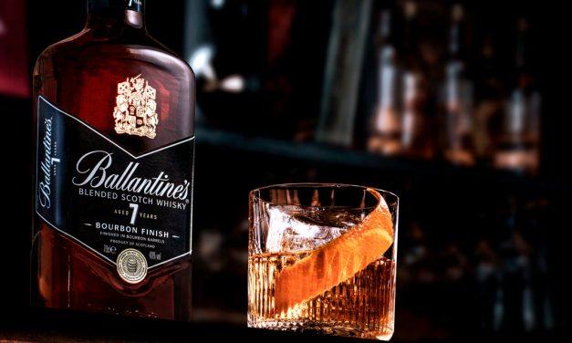 Ballantine's 7 ans Bourbon Finish, pour une Scottish Touch à un Old Fashioned !