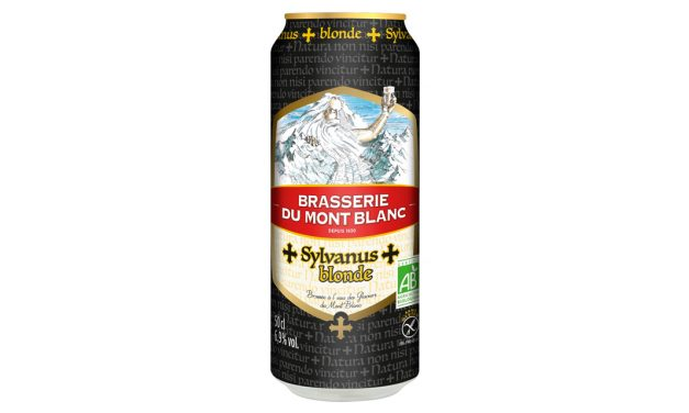 Sylvanus Blonde de la Brasserie du Mont Blanc en boite