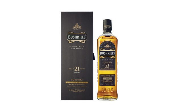 Bushmills 21 years Three Woods