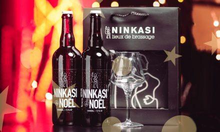 Ninkasi propose un coffret cadeau pour sa bière de Noël