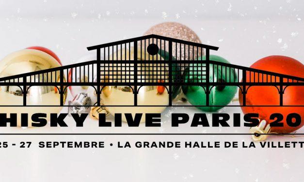 Billetterie éphémère de Noël pour le Whisky Live Paris 2021