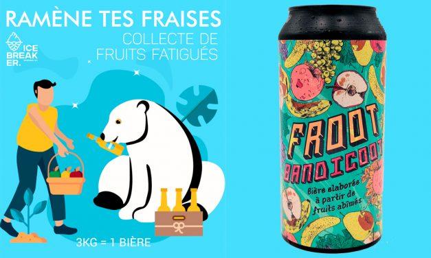 #RamèneTesFraises chez Ice Breaker Brewing pour savourer la Froot Bandicoot