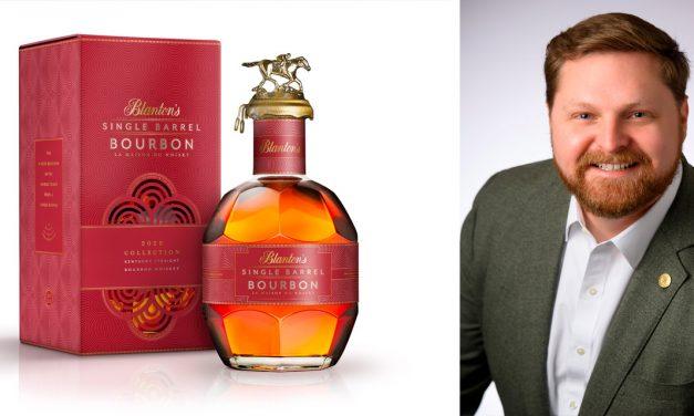 D'un fût d'un chai d'acier Blanton's créa le Bourbon haut de gamme