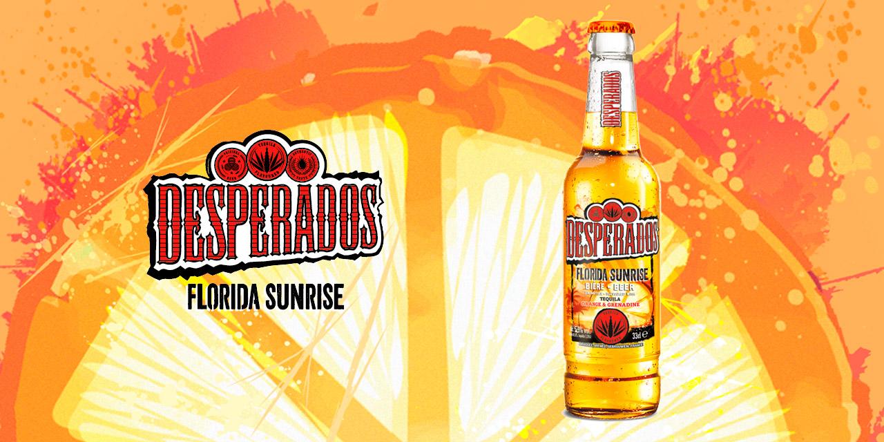 Heineken annonce la sortie de la Desperados Florida Sunrise