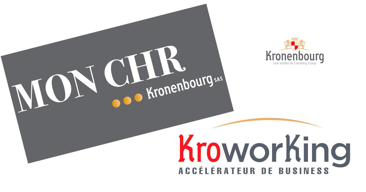 Ecosystème numérique Kronenbourg pour ses clients CHR