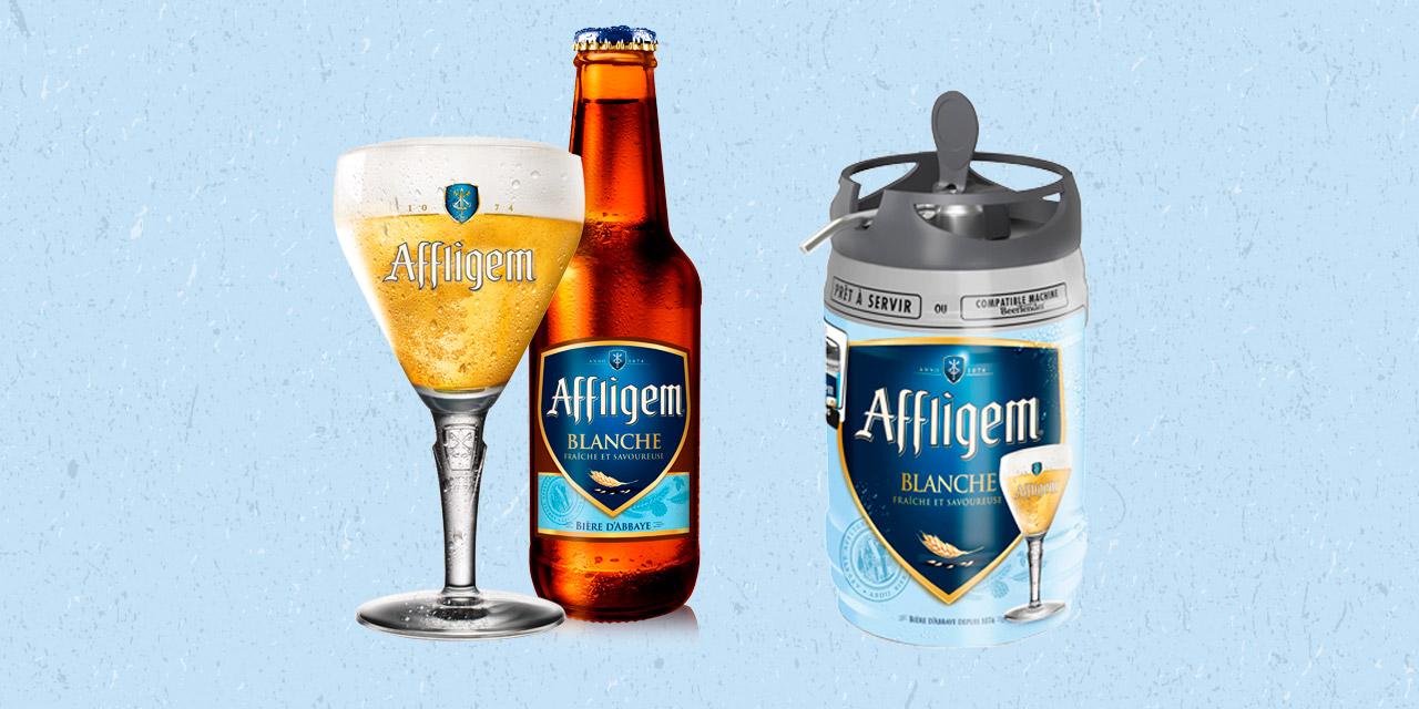 Affligem annonce la sortie de sa bière blanche