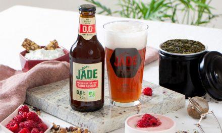 La Brasserie Castelain lance la JADE 0.0% Framboise Thé Vert