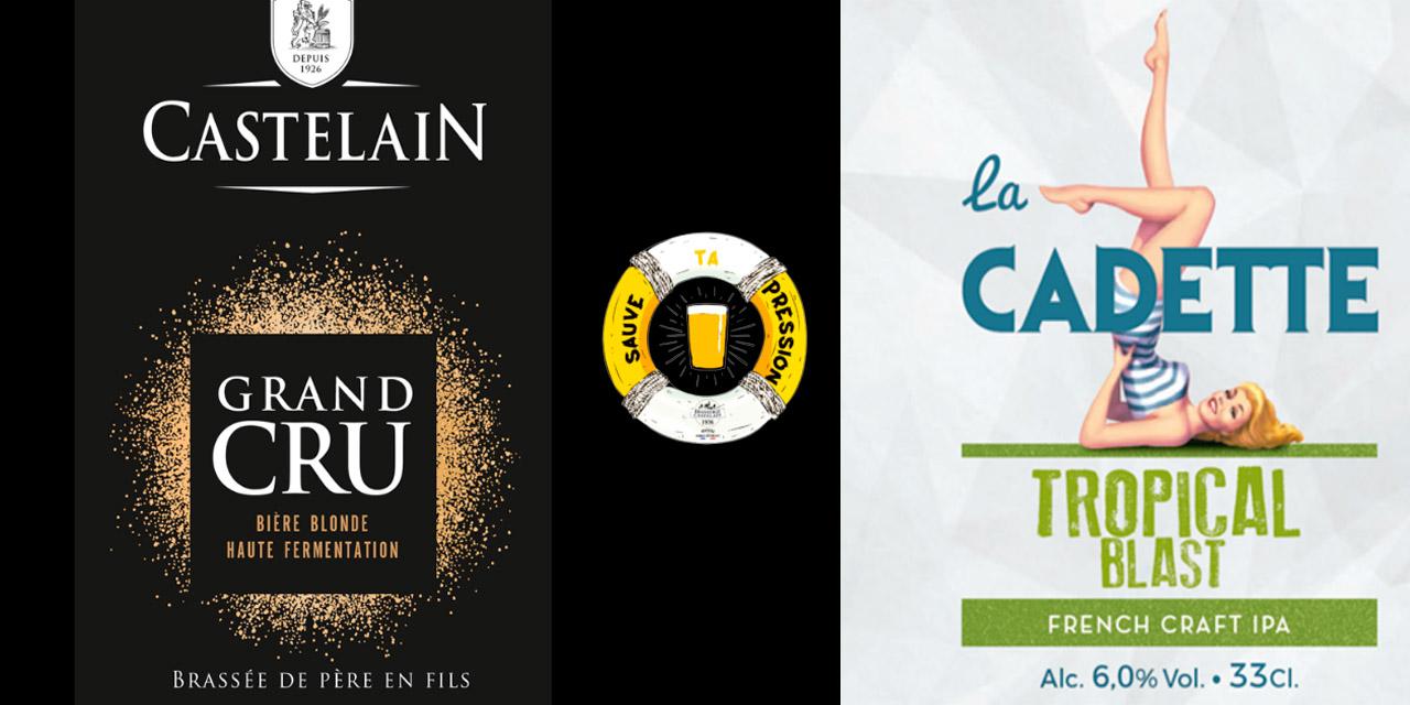 Opération Sauve ta Pression pour la Brasserie Castelain