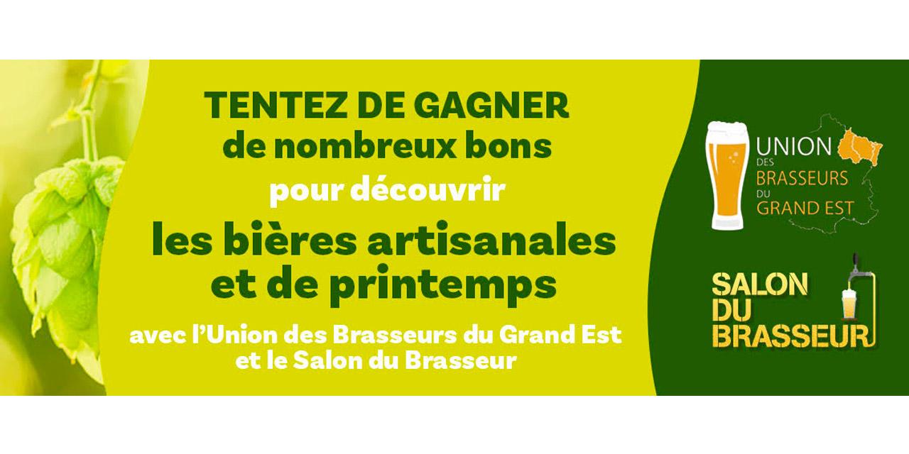 Concours UBGE et Salon du Brasseur pour les bières de Printemps