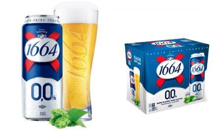 1664 sans alcool 0.0% en pack de 6 boites de 33cl