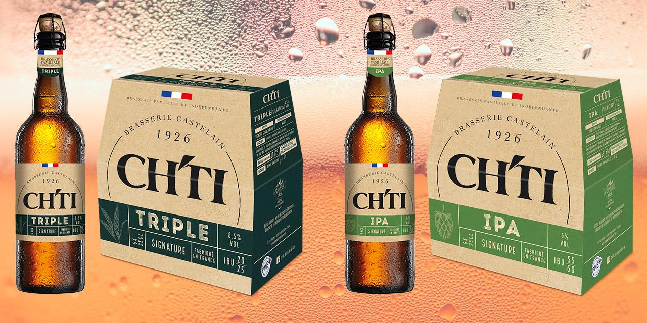 La brasserie Castelain lance la Ch'TI IPA et la Ch'TI Triple