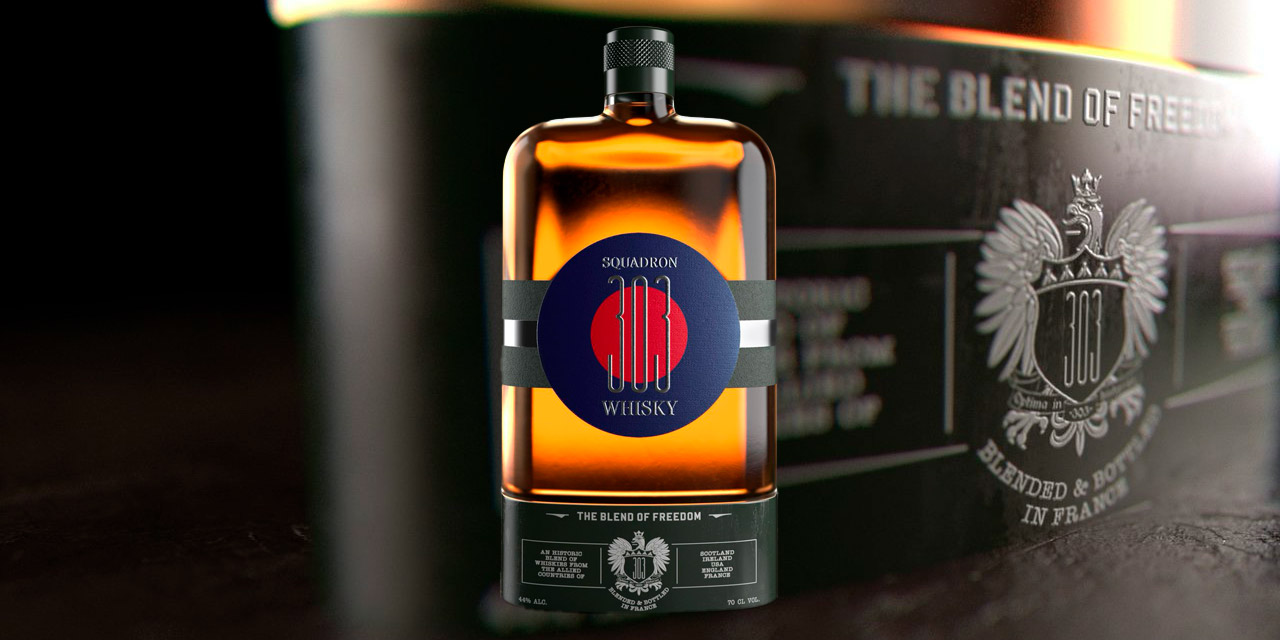 Blend of Freedom, un whisky hommage au Squadron 303