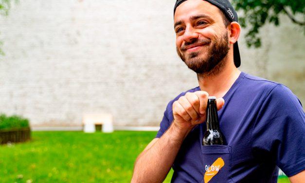 La Brasserie Fondamentale et Olow associés dans une bière et un T.Shirt