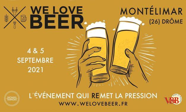 We Love Beer tient sa 2e édition à Montélimar les 4 et 5 septembre