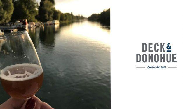Bières et fromage sur la Marne avec Deck & Donohue