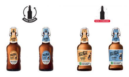 Fischer déploie un format de bouteille consignée et réemployable