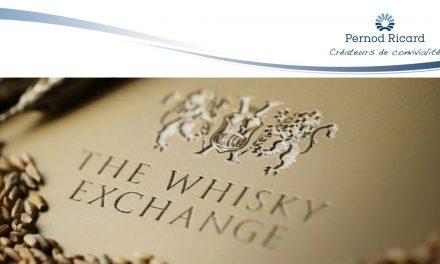 Pernod Ricard va acquérir The Whisky Exchange