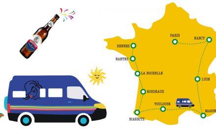 La Belge Ginette se fait un tour de France !
